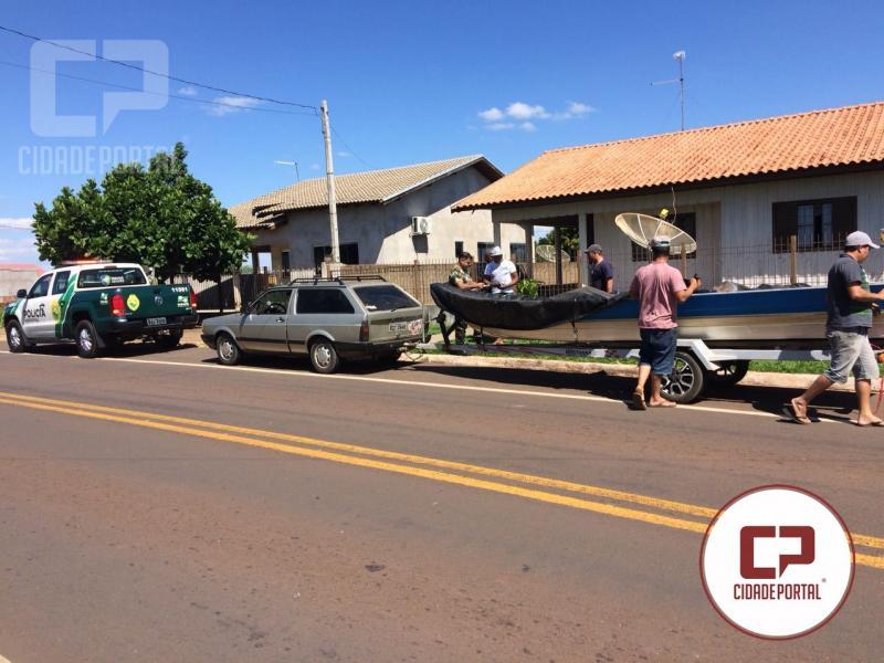 Durante deslocamento Polícia Ambiental de Umuarama apreende peixes fora do tamanho permitido em na BR-485