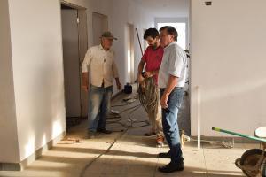 Construção de unidade de saúde e ampliação  de escola avançam rapidamente no Sonho Meu em Umuarama
