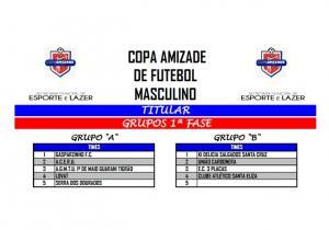 Arbitral apresenta regulamento e tabela da Copa Amizade de Futebol em Umuarama