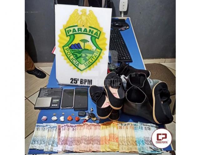 Polícia Militar age rápido e localiza autores de furto em loja de calçados na cidade de Umuarama