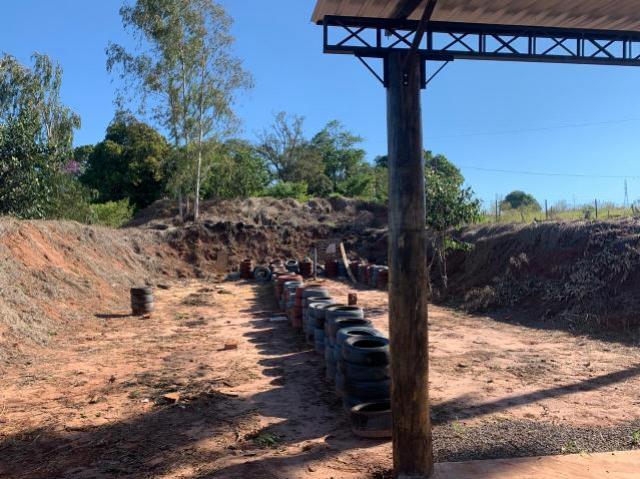 Ação conjunta interdita estande de tiro irregular na área rural de Umuarama