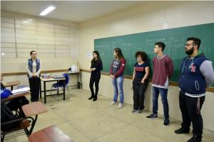 Começam as ações informativas da campanha Agosto Lilás em Umuarama