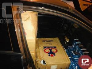 Contrabandista desobedece ordem de parada e tenta atropelar policiais na PR 323