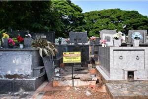Terrenos abandonados no cemitério serão revertidos para o município de Umuarama