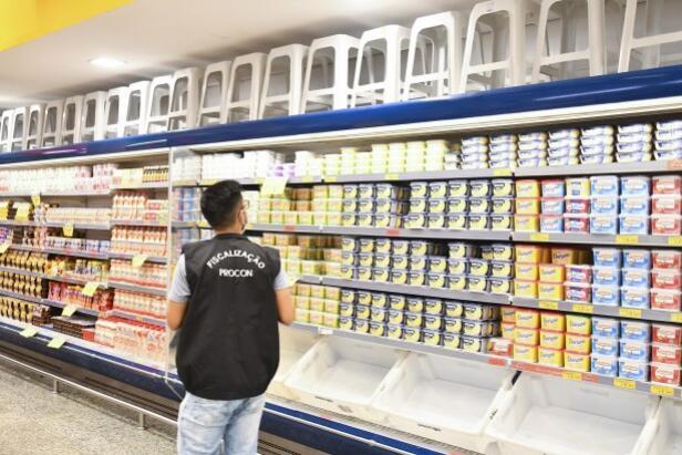 Pesquisa mensal do Procon indica alta de 3% nos preços da cesta básica