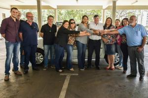 Conselho Tutelar de Umuarama recebe veículo doado pelo Patrimônio da União no Paraná
