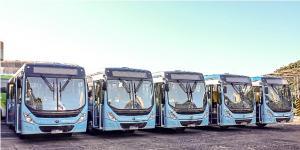 Concessionária do transporte coletivo de Umuarama apresenta novos ônibus ao prefeito