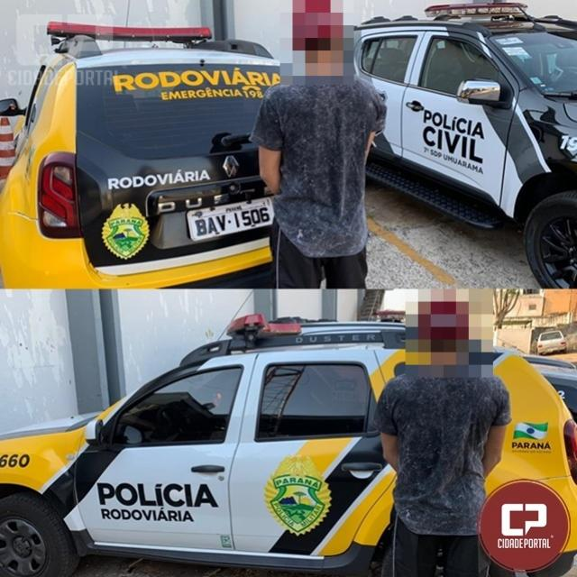 PRE de Cruzeiro do Oeste efetua prisão de condutor com sinais de embriaguez em atendimento de acidente