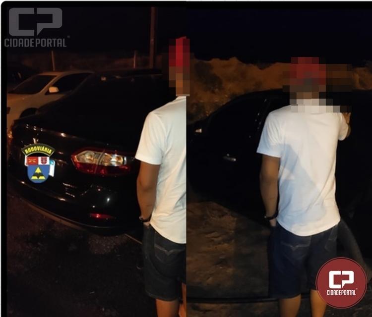 PRE de Iporã prende condutor com sinais embriaguez e apreende veículo