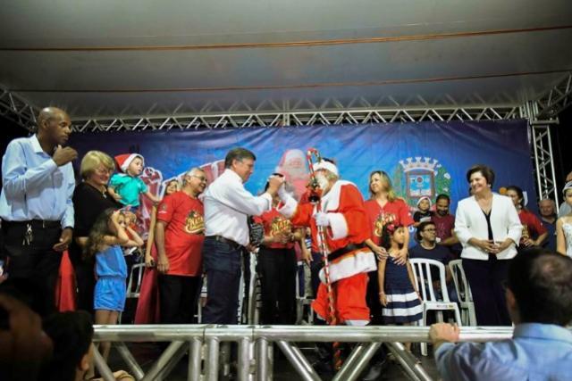 Atrações do Natal Encantado 2019 chegam aos distritos de Umuarama