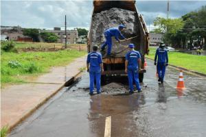 Prefeitura de Umuarama interditará trecho da Parigot para reparos na tubulação