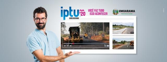 A Secretaria Municipal da Fazenda de Umuarama lançou a cobrança do IPTU