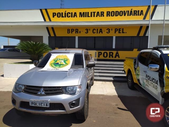 PRE de Iporã apreende veículo carregado com cigarros contrabandeados em Perobal