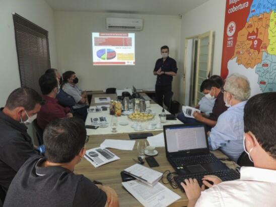 Consórcio do Samu realiza primeira reunião sob a presidência de Celso Pozzobom