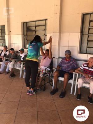 Policia Militares do 25º BPM realizam visita social no Lar dos Idosos em alusão ao dia das Mães