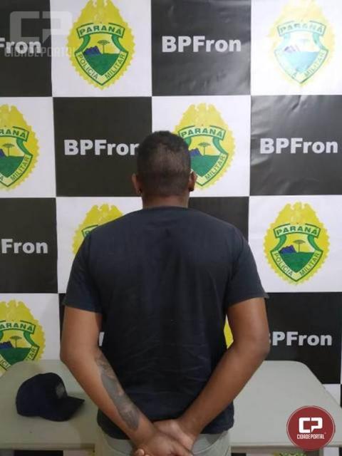 BPFron cumpre mandado de prisão em Guaíra/PR