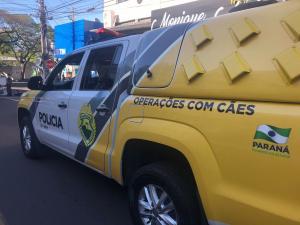 Policiais do 25º BPM participaram do desfile Cívico de 7 de Setembro em Umuarama