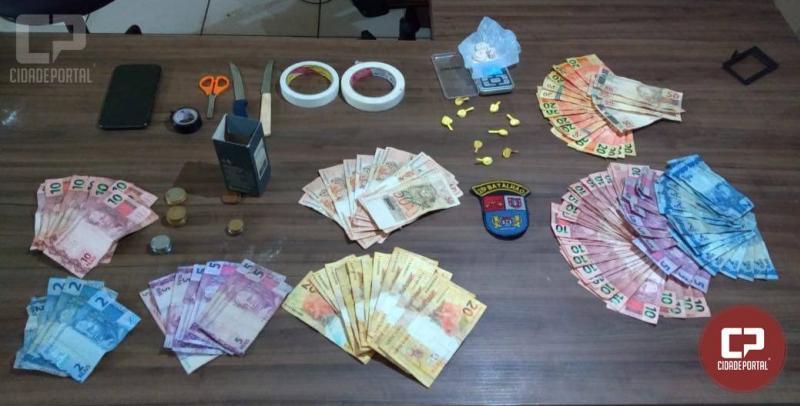 Polícia Militar de Umuarama prende casal por tráfico e duas mulheres por associação ao tráfico