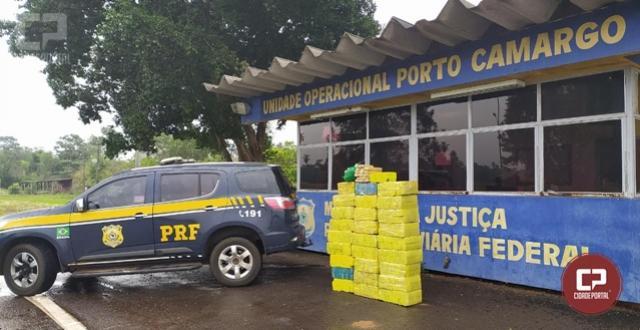 PRF apreende 410 Kg de maconha em Icaraíma nesta segunda-feira, 09