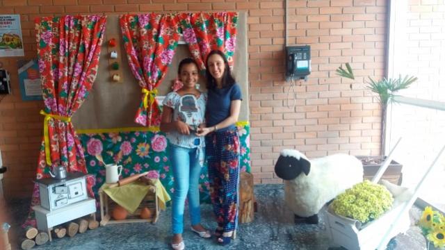 Aluna de Umuarama é premiada no Concurso Entre Lendas do Paraná