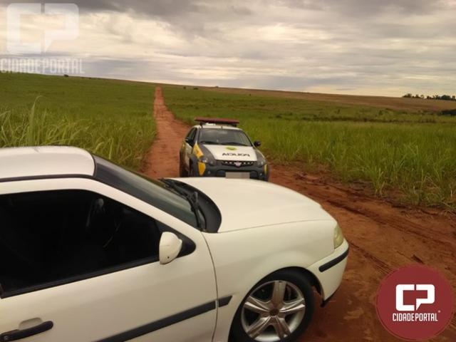 Veículo foi localizado um dia após ser roubado em Tapejara