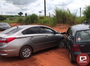 Policiais do 7º BPM apreendem maconha após carro carregado colidir em Cruzeiro do Oeste