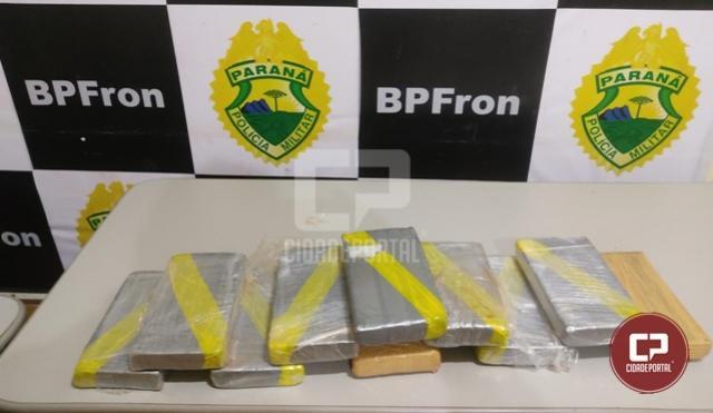 BPFron apreende cocaína em ônibus durante Operação Hórus em Guaíra