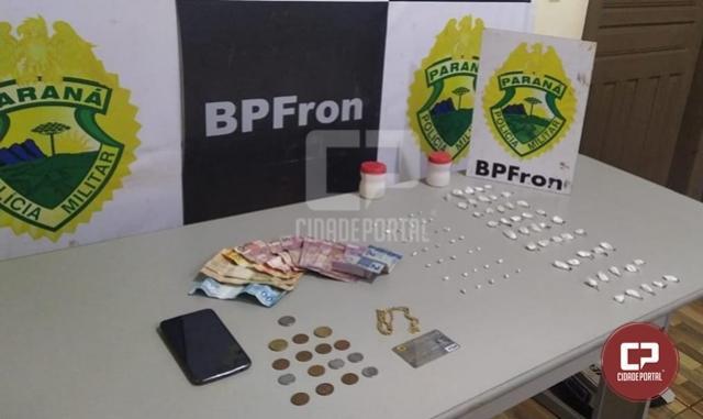 BPFron apreende drogas durante Operação Hórus em Guaíra