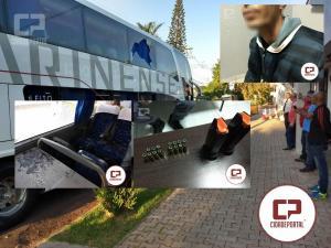"""Policial Militar evita assalto a ônibus na rodovia BR-369 por """"Piratas do Asfalto""""."""