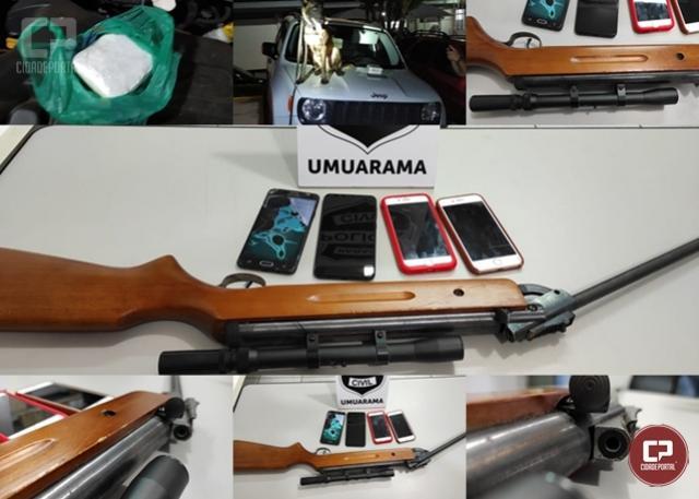 Polícia Civil de Umuarama deflagra Operação Narcos e cumpre mandados de busca e apreensão
