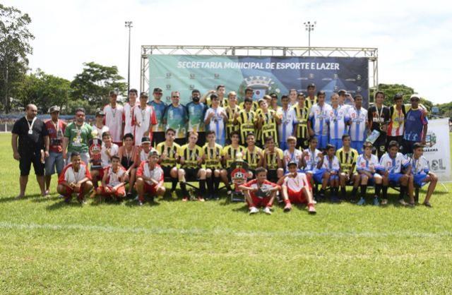 Zona 3/ Bento é campeão do Interbairros e Distritos de Futebol Sub-15 Masculino