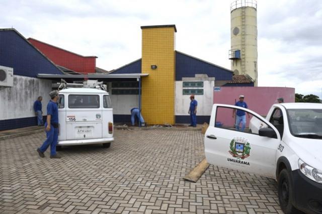 Escolas recebem adequações em preparação para a volta às aulas em Umuarama