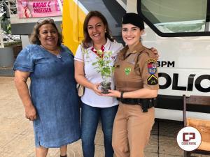 Polícia Militar e Conselho da Mulher realizam evento ao dia Internacional das Mulheres em Umuarama