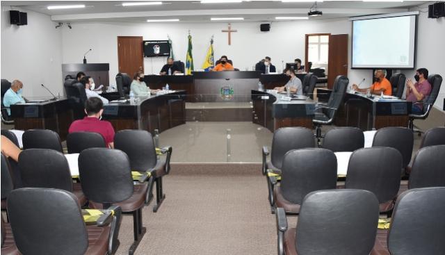 Com aprovação unânime de projetos, sessão ordinária teve cinco matérias em apreciação