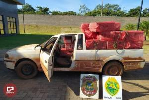 Polícia Federal, BPFRON e BOPE apreendem embarcação e veículos com contrabando em Guaíra