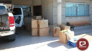 Polícia Militar de Umuarama realiza apreensão de produtos eletrônicos contrabandeados e prendem um indivíduo