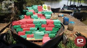 Operação Hórus realiza grande apreensão de embarcação com 600 caixas de cigarros contrabandeados em Guaíra
