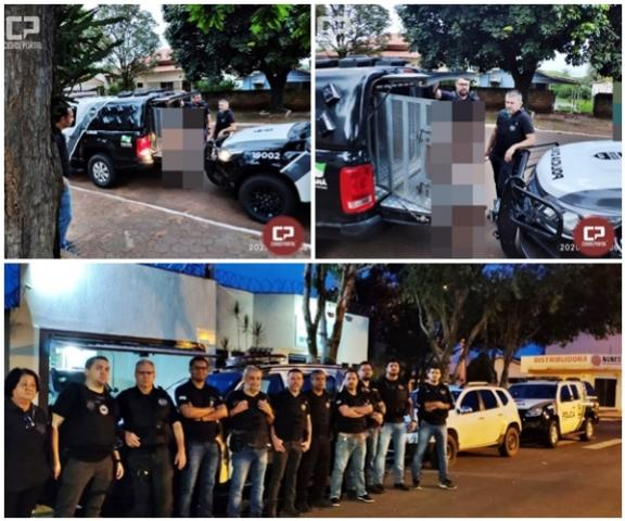 Indivíduos envolvidos na morte de um jovem se entregaram á Polícia Militar de Paiçandu