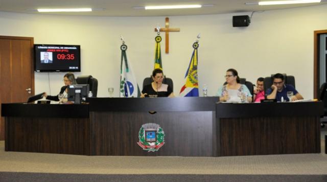 Vereadores aprovam sete projetos e  retornam outro pra análises em comissões