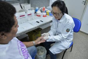 Saúde oferece testes rápidos no Dia dos Namorados para população de Umuarama