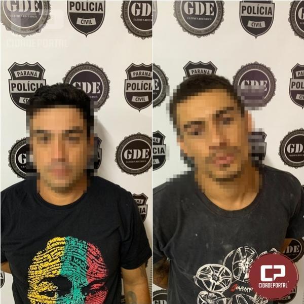 Polícia Civil cumpre dois mandado de prisão em Umuarama