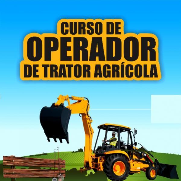 Prefeitura oferece a moradores de rua curso de operador de trator agrícola