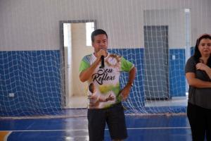 Reinaugurado o ginásio de esportes de Santa Eliza em Umuarama