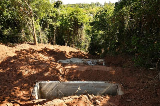 Nova rede de galerias pluviais do Parque Irani já conta com dissipador em Umuarama