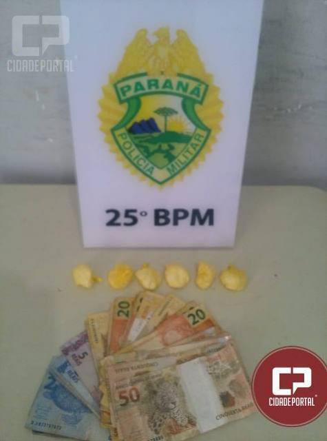 Polícia Militar de Umuarama apreende menor pelo ato infracional análogo ao tráfico de drogas no parque industrial