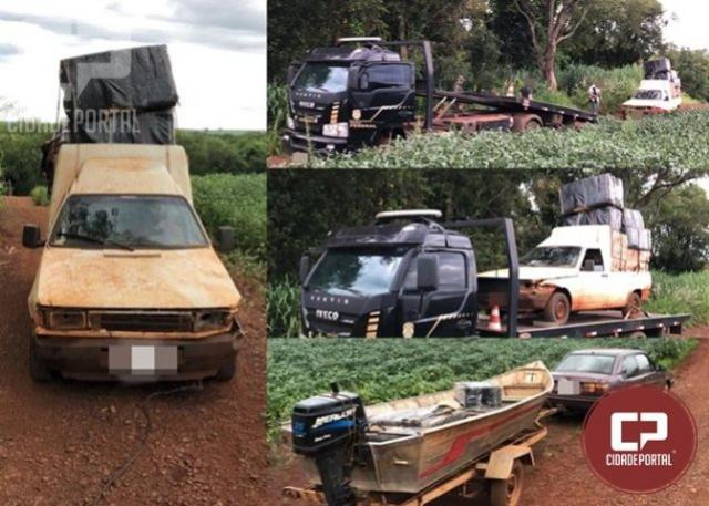Operação Hórus realiza prisão de um homem e apreensão de contrabando em Guaíra