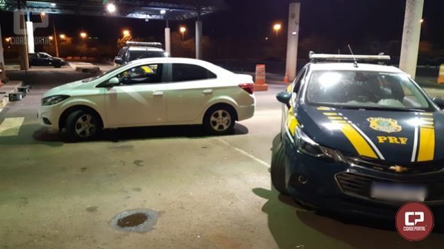 PRF recupera carro em Guaíra algumas horas depois de ter sido furtado em Cascavel
