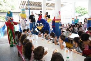 Escola Birigui promoveu festa para os alunos