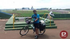 Vagner Souza realiza expedição de São Paulo à Foz do Iguaçu de bicicleta em homenagem a sua mãe