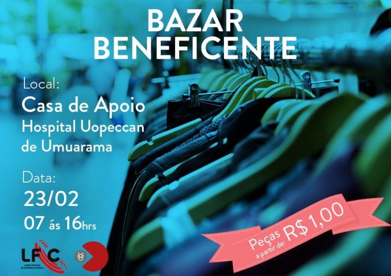 Umuarama: Uopeccan realiza Mega Bazar Beneficente